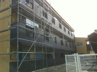 住宅塗装作業の写真